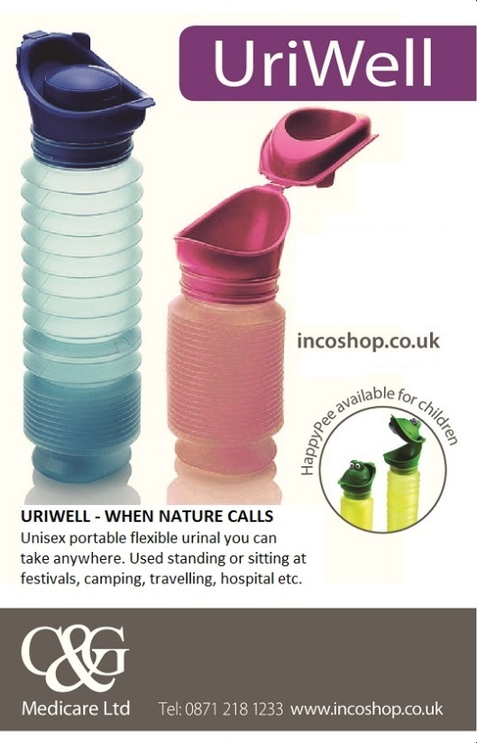 Uriwell portable urinal